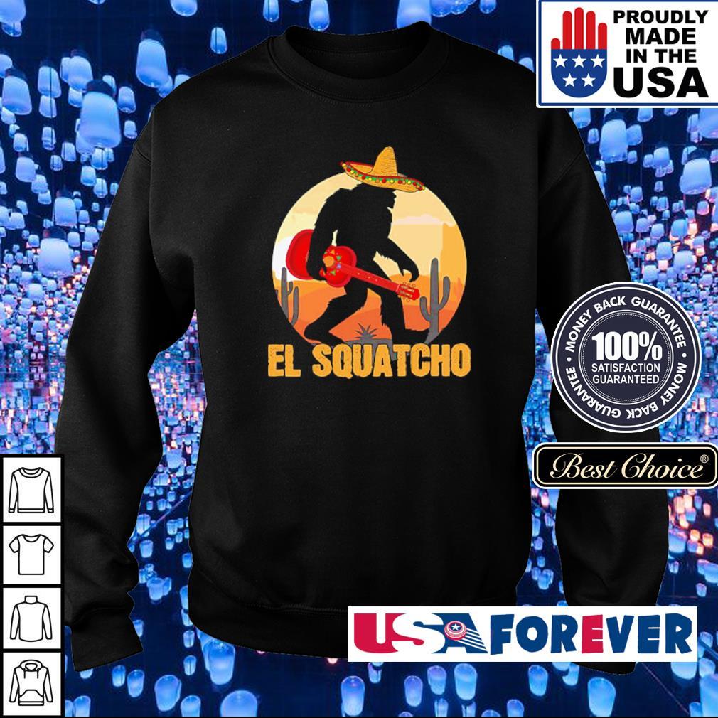 Big Foot El Squatcho s sweater
