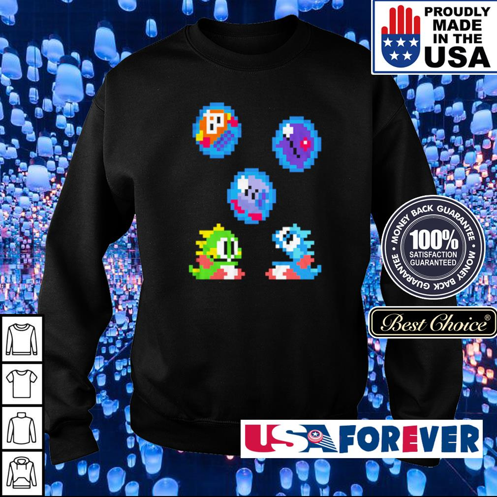 Bubble Bobble's Bubby and Bobby s sweater