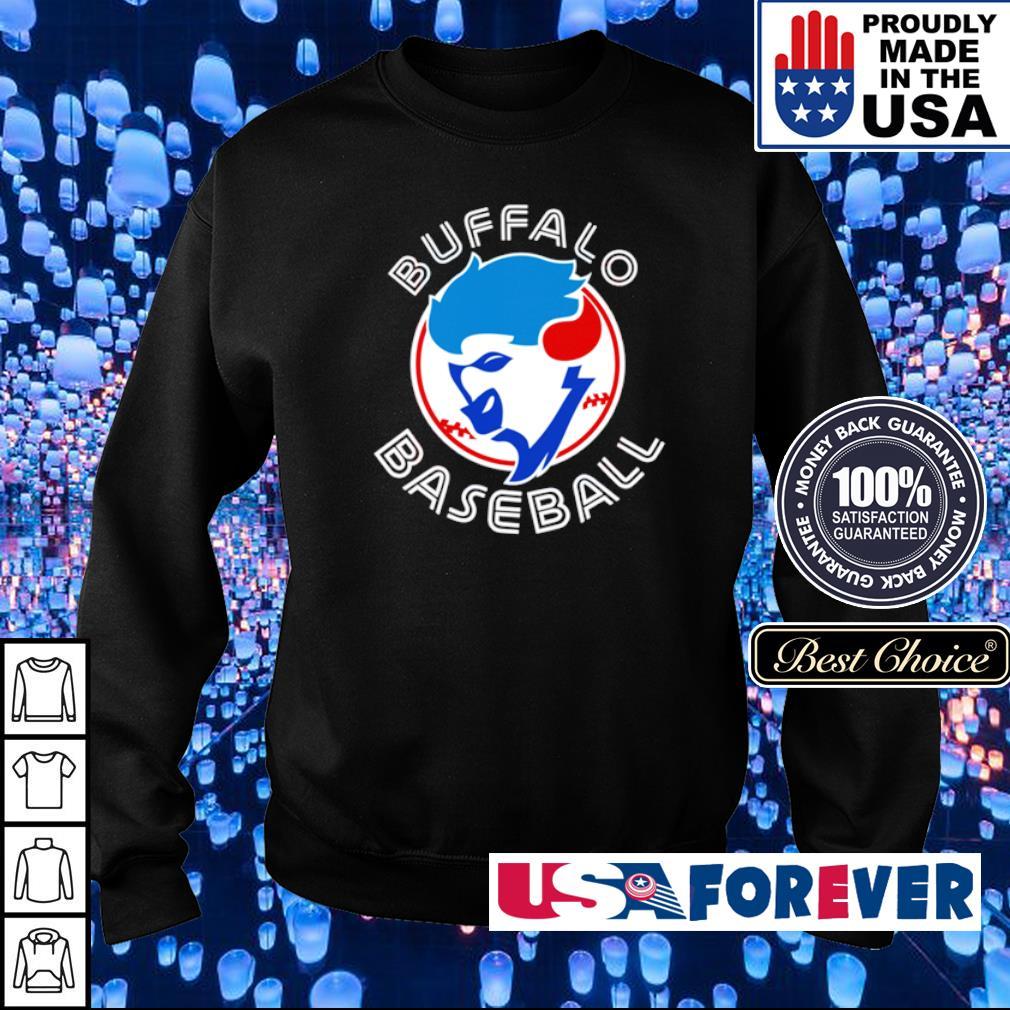 Buffalo Baseball blue jays s sweater
