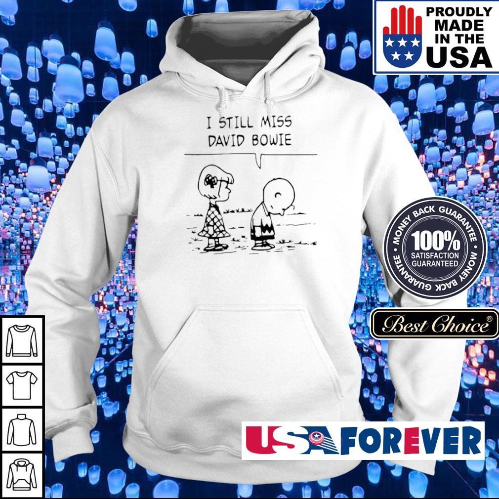 Charlie Brown I still miss David Bowie s hoodie