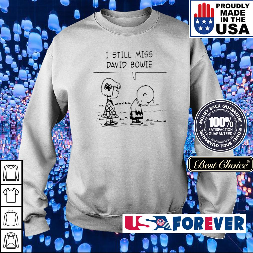 Charlie Brown I still miss David Bowie s sweater