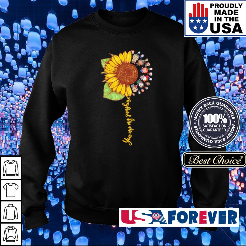Chibi horror characters you are my sunshine s sweater