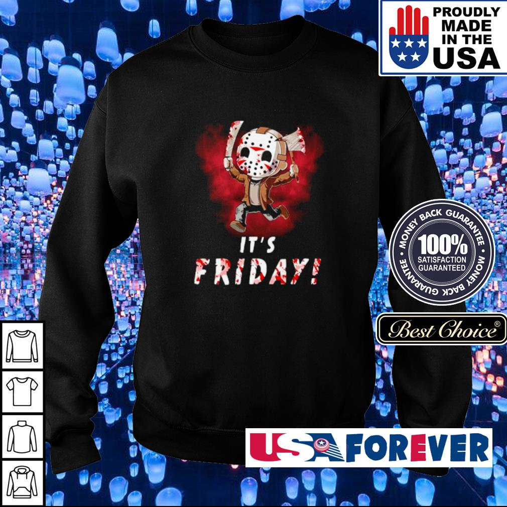 Chibi Jason Voorhees it's friday s sweater