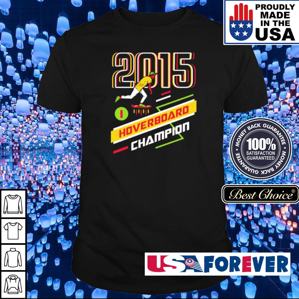 Cool Runnings 2015 Hoverboard Champion shirt