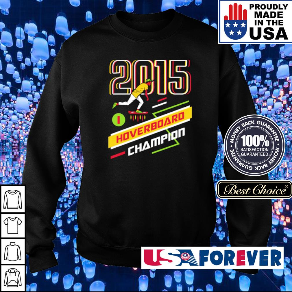 Cool Runnings 2015 Hoverboard Champion s sweater