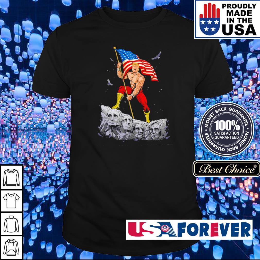 Donald Trump Mount Rushmore shirt