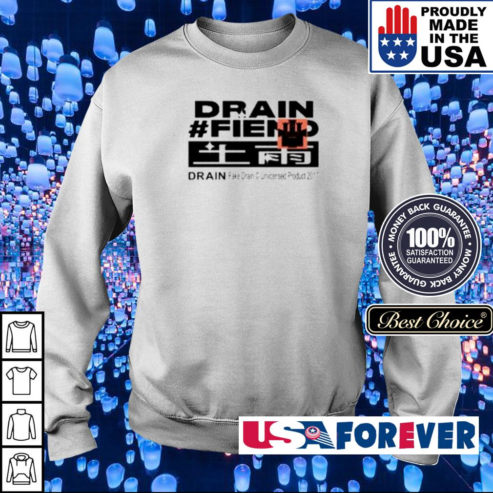 Drain #fiend drain fake dran uncersed product 2017 s sweater