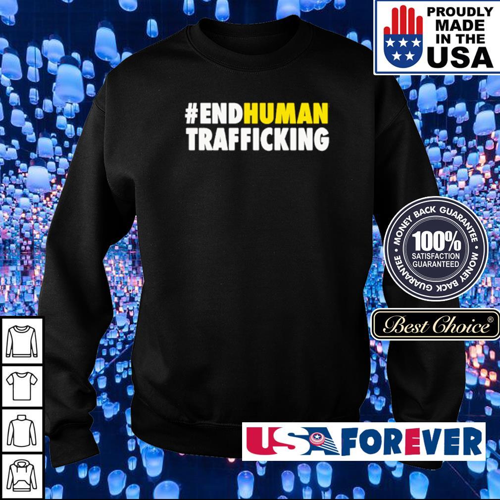 #EndHuman Trafficking s sweater