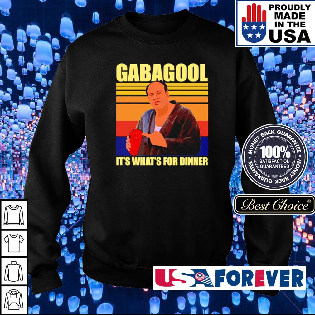 Gabagool it's what's for dinner vintage s sweater