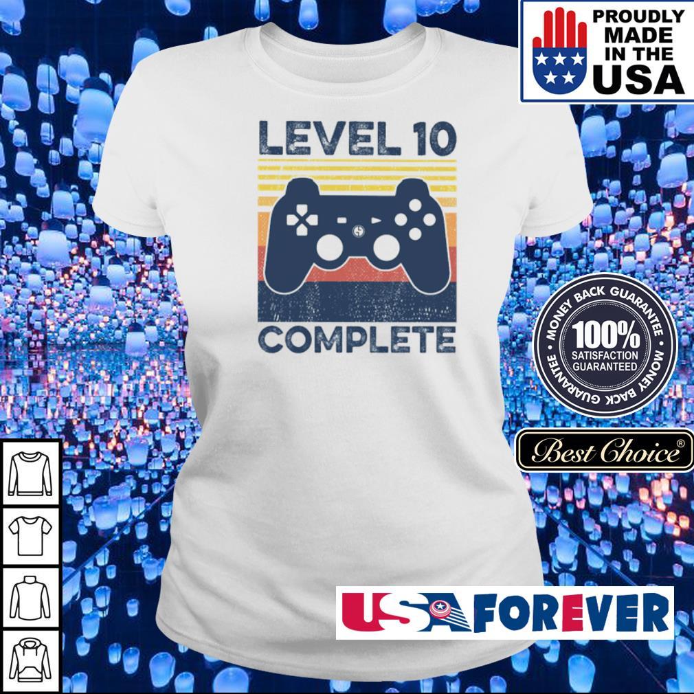 Game level 10 complete vintage s ladies