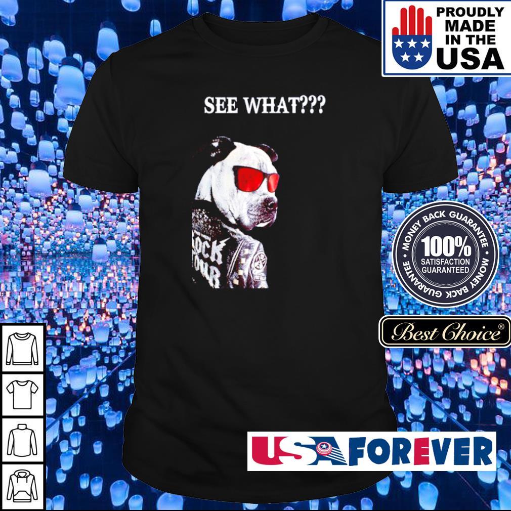 Gang Pitbull Rock Tour See What shirt