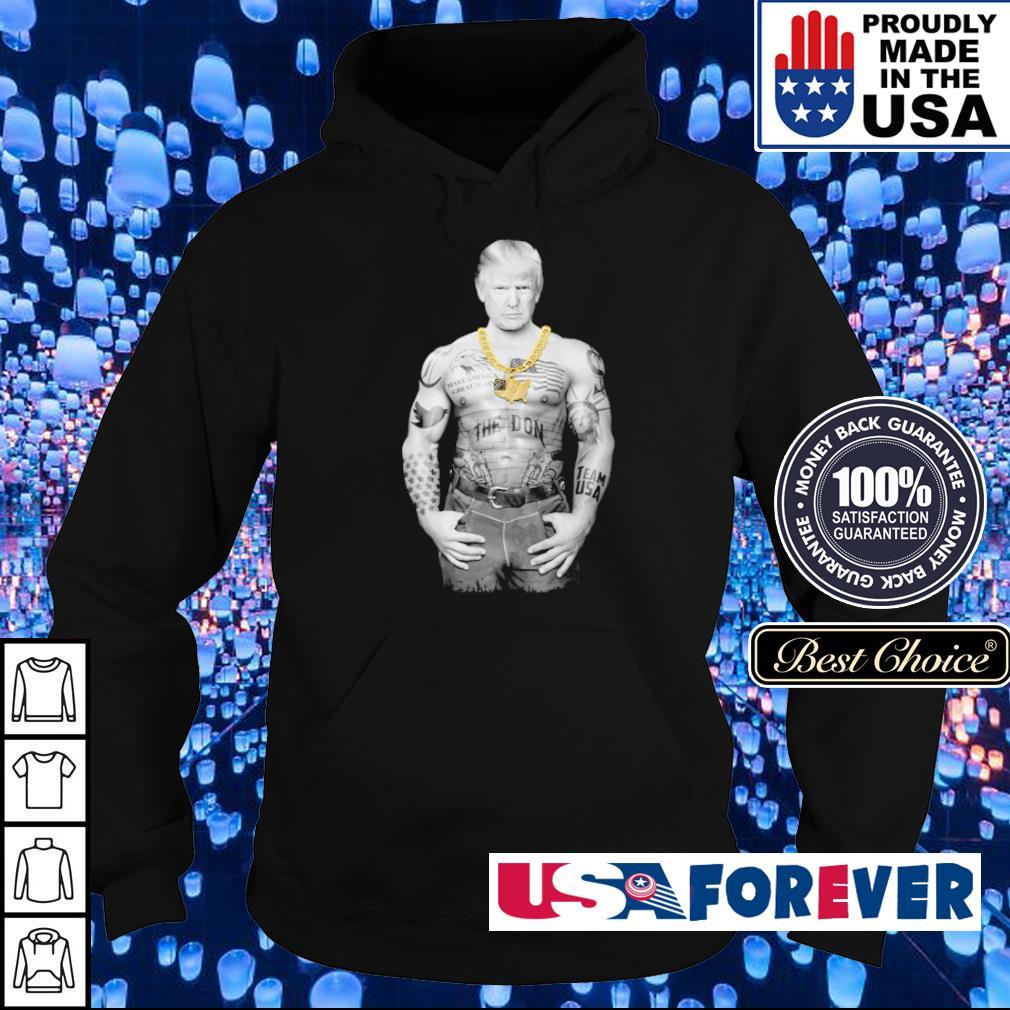 Gangster Donald Trump Make American Great Again s hoodie