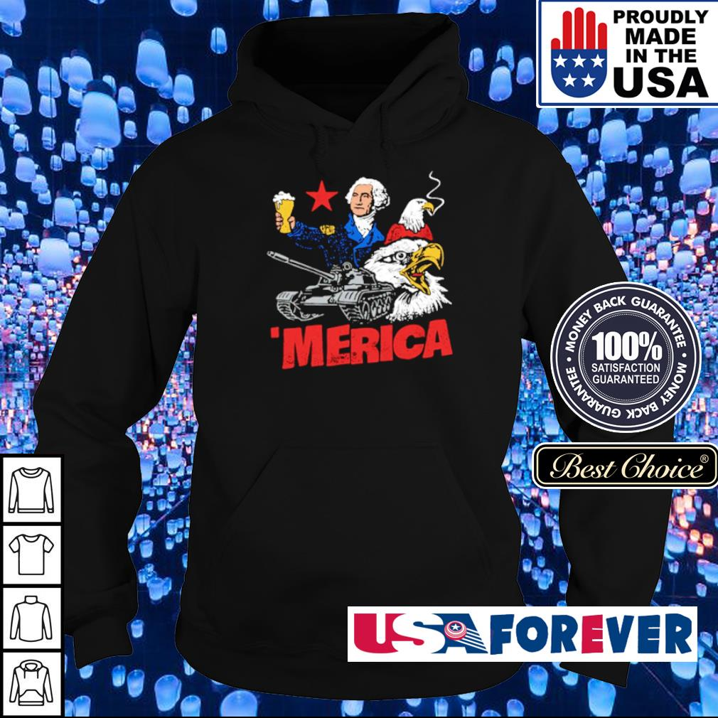 George Washington Merica Patriotic American s hoodie