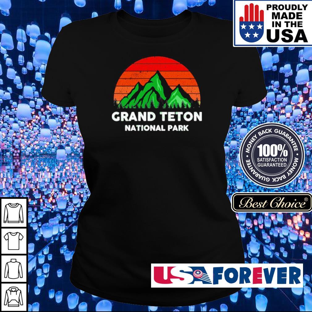 Grand Teton National Park vintage s ladies