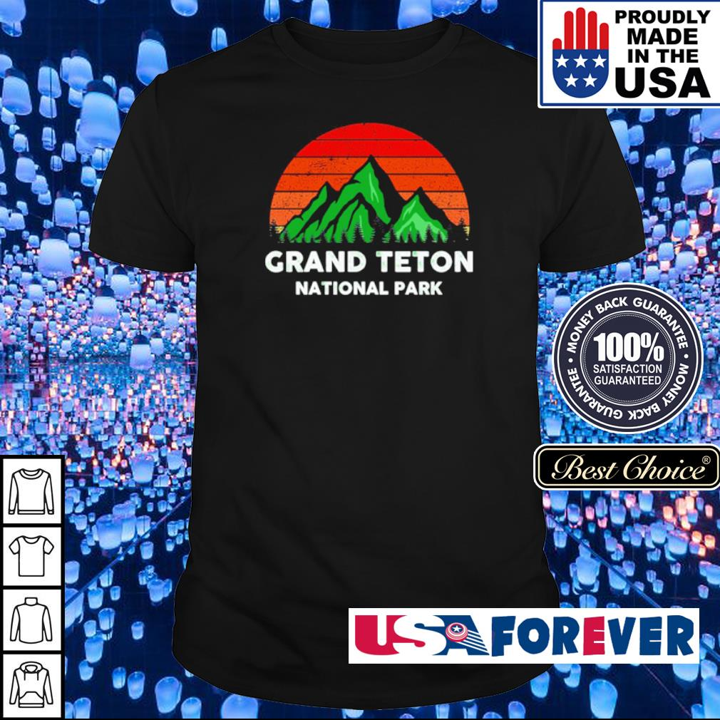 Grand Teton National Park vintage shirt