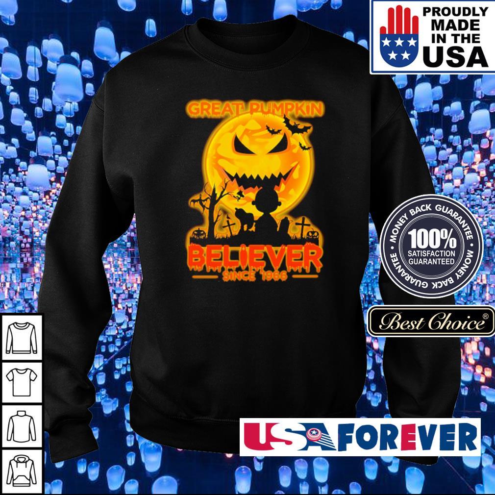 Great pumpkin believer since 1966 s sweater