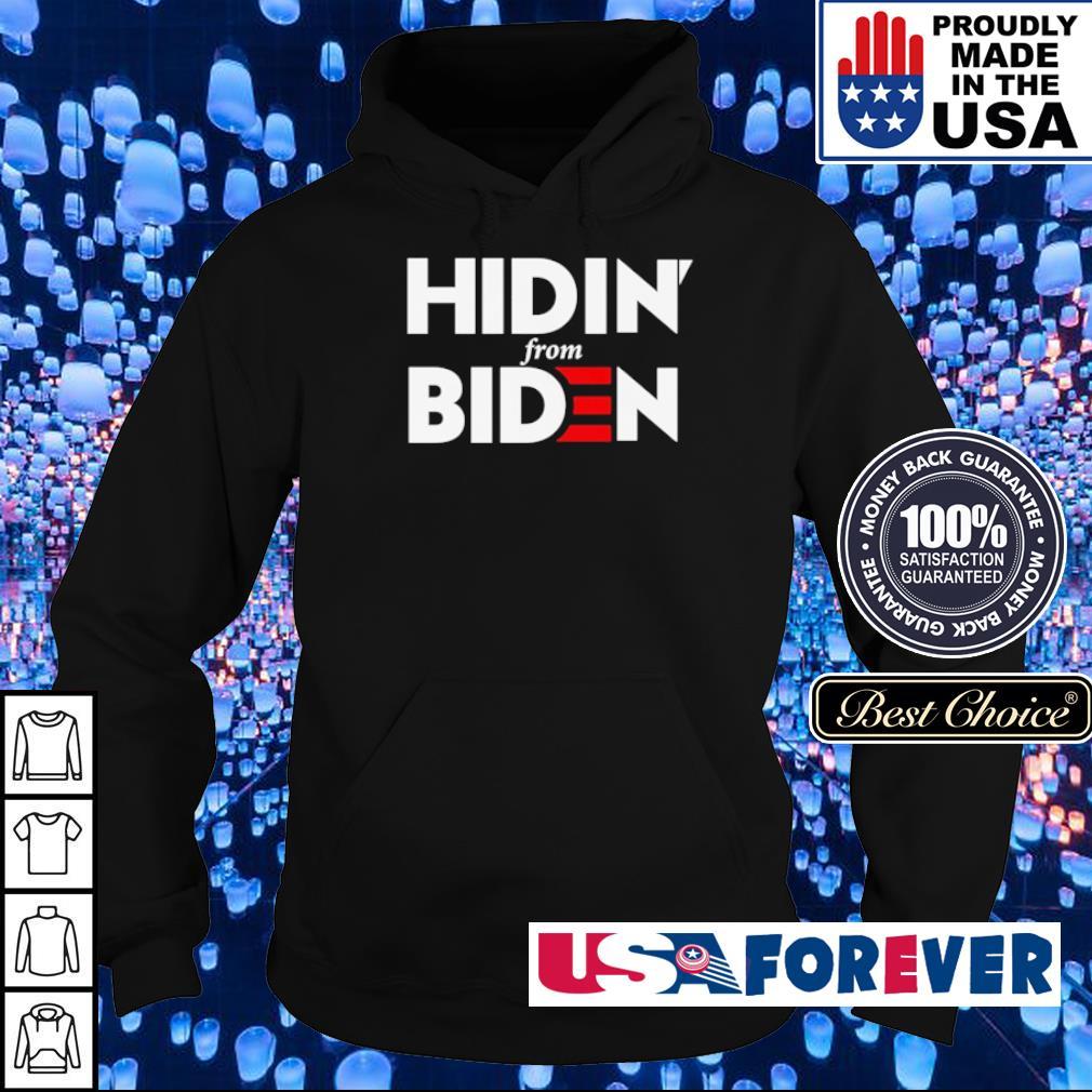 Hidin' from Biden s hoodie