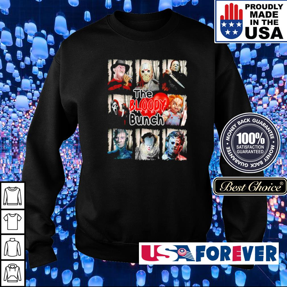 Horror character The Bloody Bunch s sweater