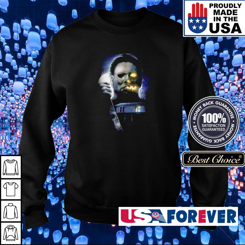 Horror movie Michael Myers Halloween night s sweater