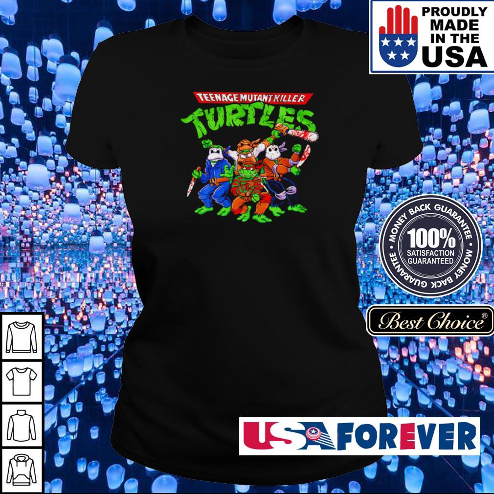 Horror Teenage Mutant Killer Turtles s ladies