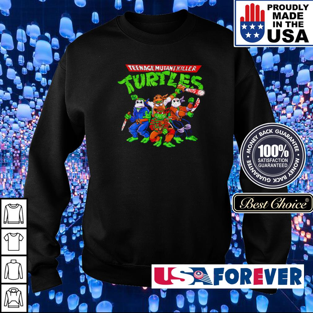 Horror Teenage Mutant Killer Turtles s sweater