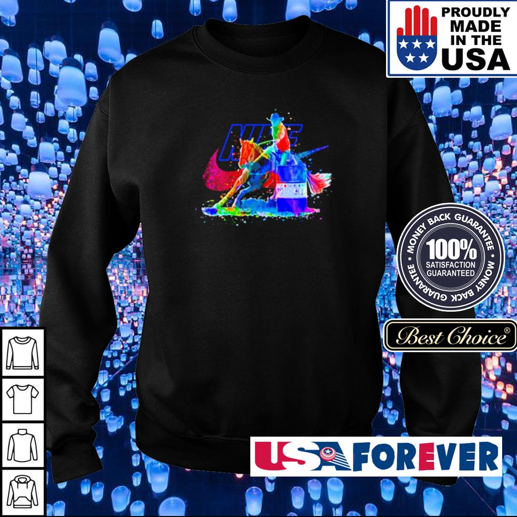 Horse Racing Nike Just Do It s sweater