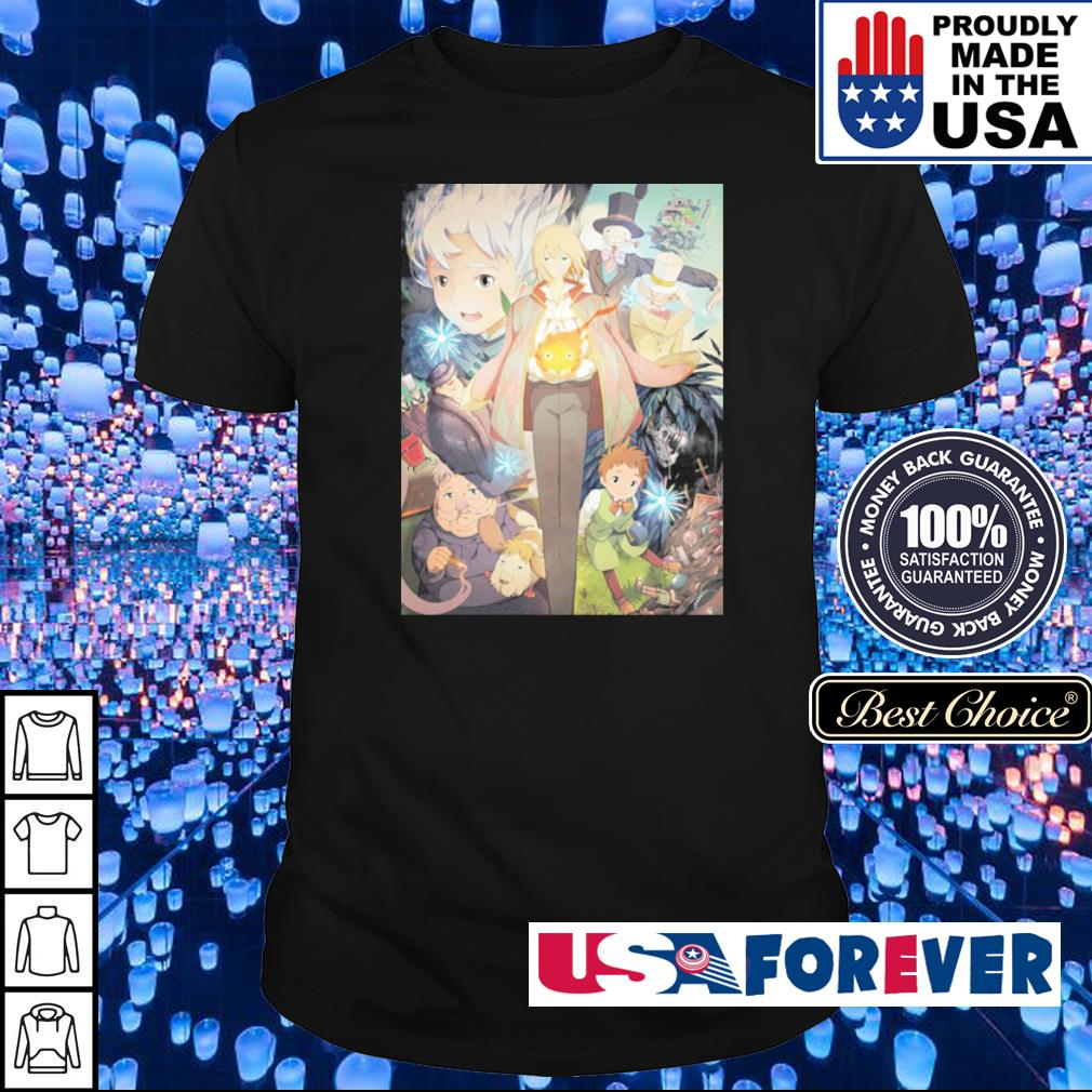 Howl's Moving Castle shirt