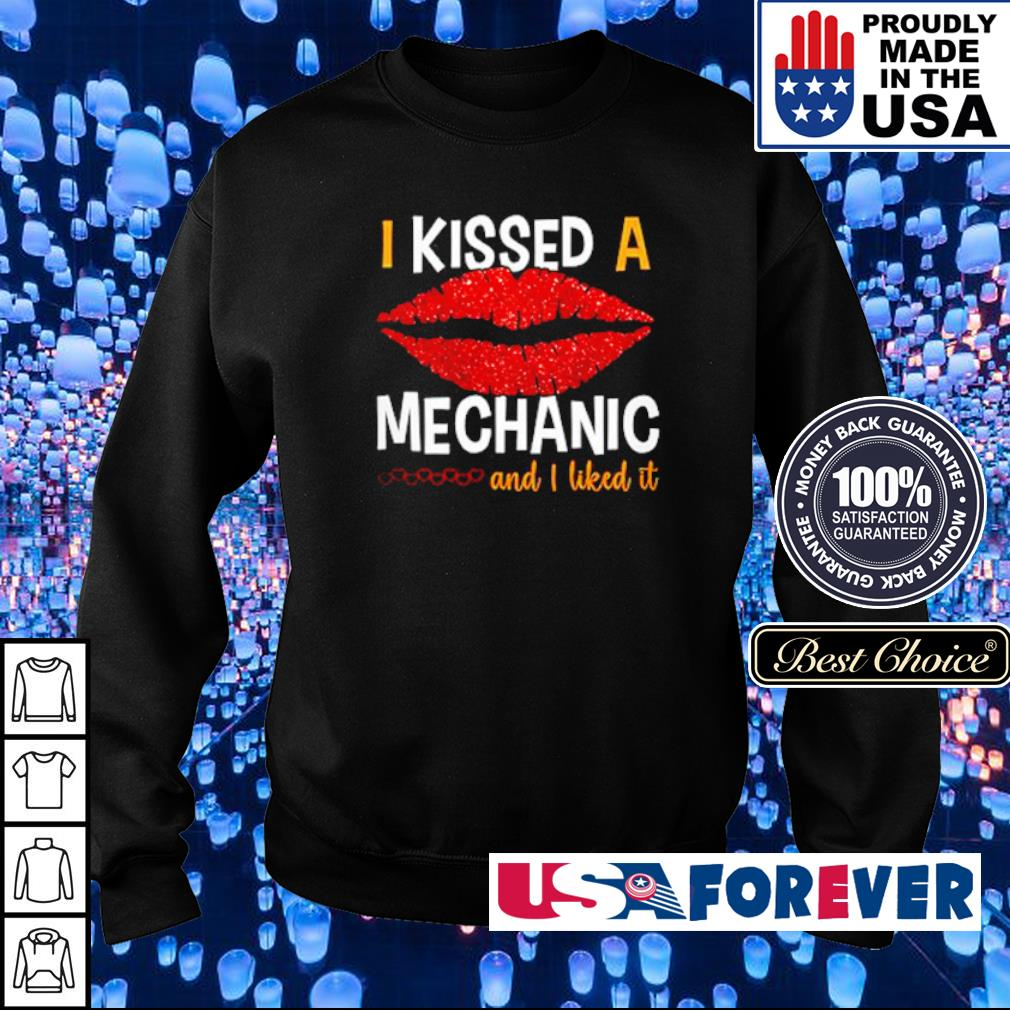 I kissed a mechanic and I liked it s sweater