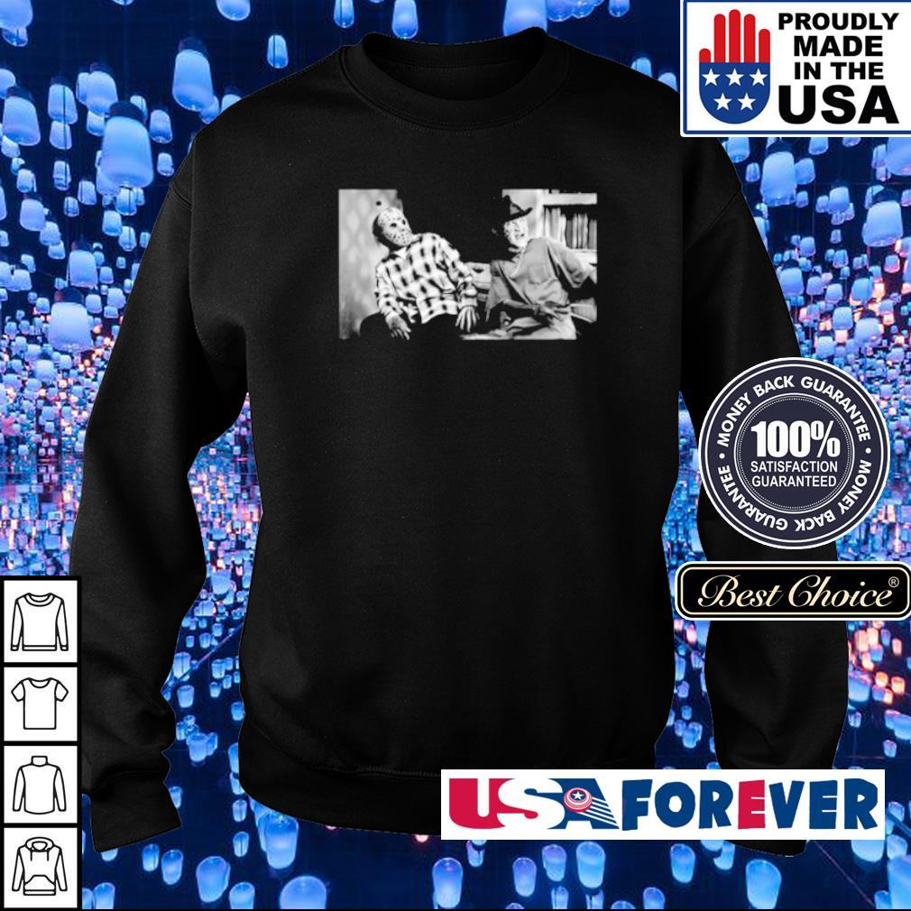 Jason Voorhees and Freddy Krueger damnnnn s sweater