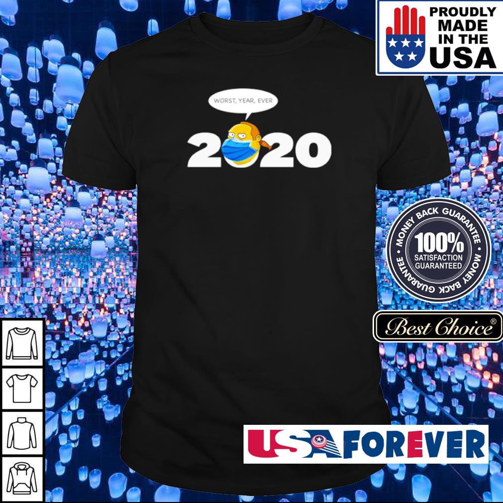 Jeff Albertson 2020 worst year ever shirt