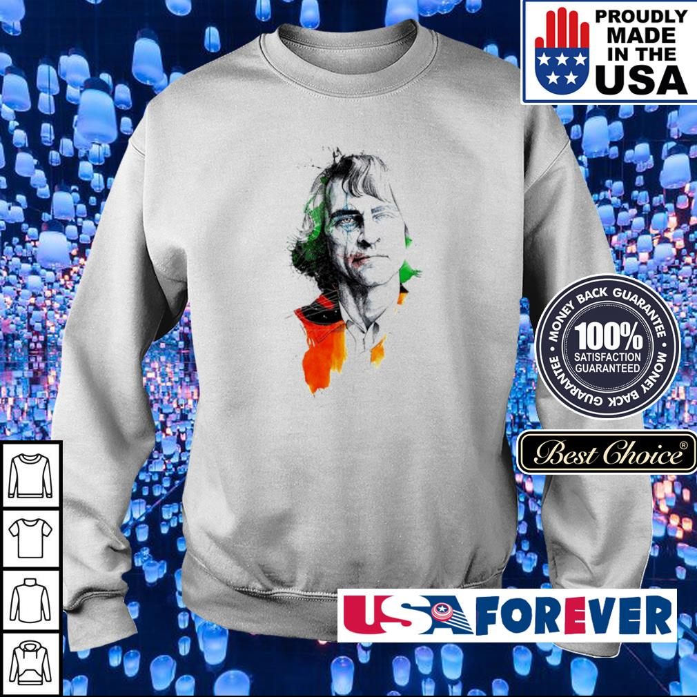 Joaquin Phoenix The Joker s sweater