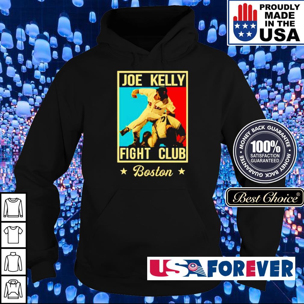 Joe Kelly Fight Club Boston s hoodie