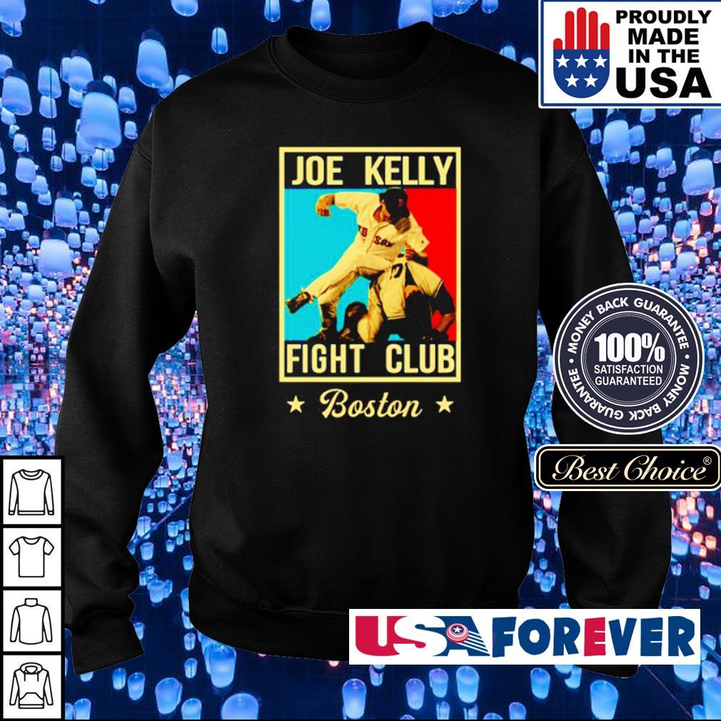 Joe Kelly Fight Club Boston s sweater