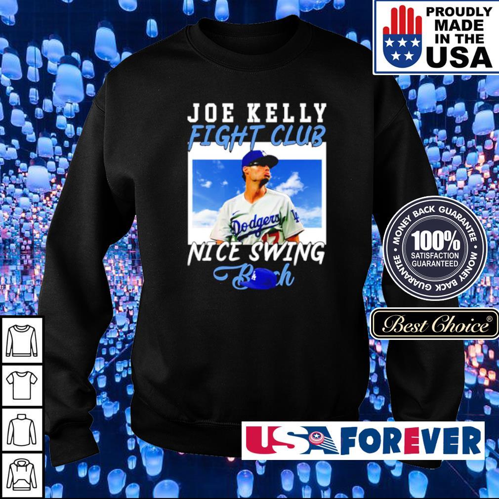 Joe Kelly fight club nice swing bitch s sweater