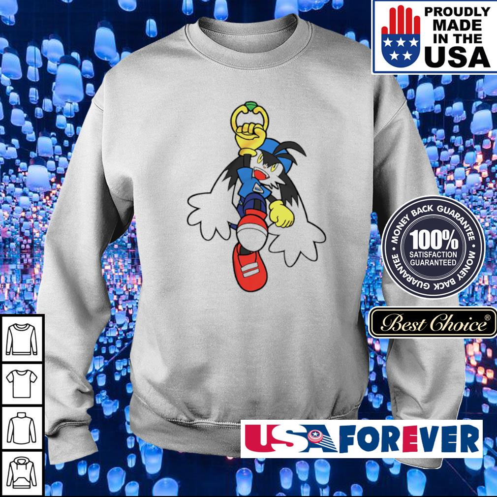 Klonoa of the Wind Breezegale Hero s sweater