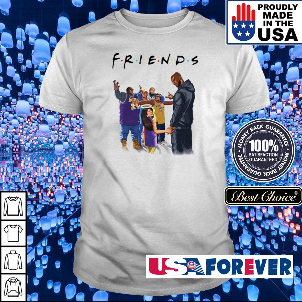 Kobe Bryant and daughter Biggie Tupac and Friends shirt