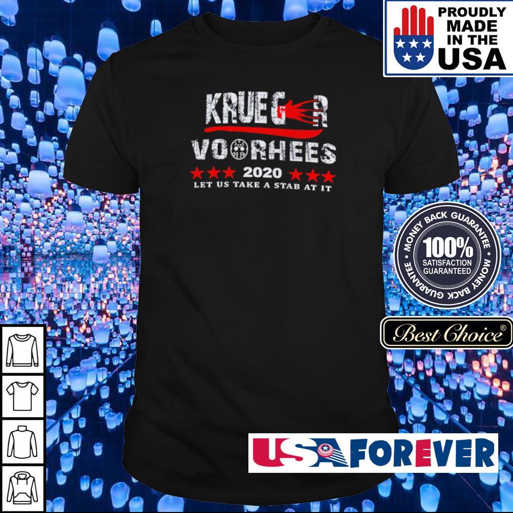 Krueger Voorhees 2020 let us take a stab at it shirt