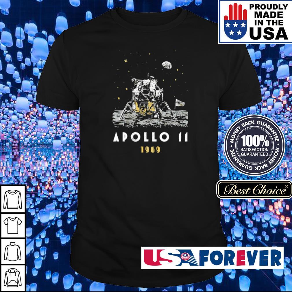 Nasa Spaceflight Apollo 11 moon landing shirt