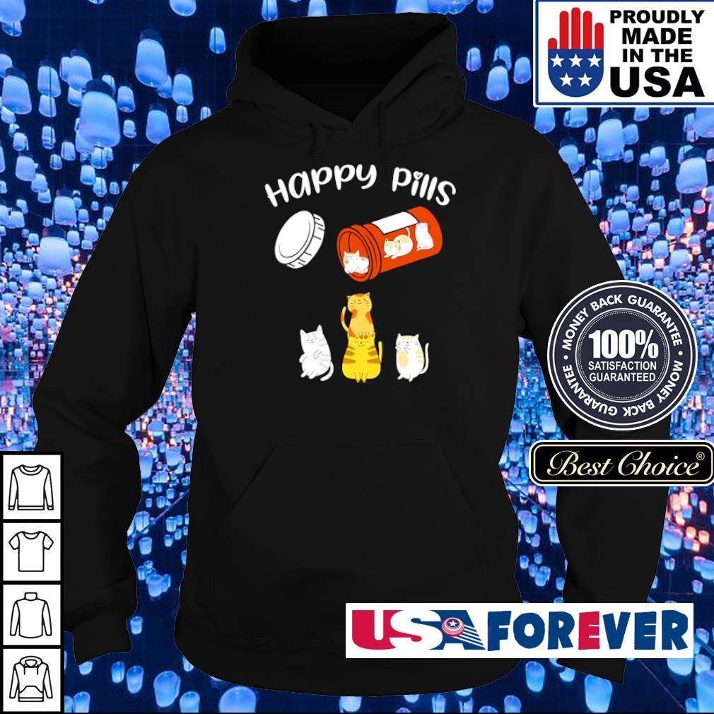 Official Cat Happy Pills s hoodie