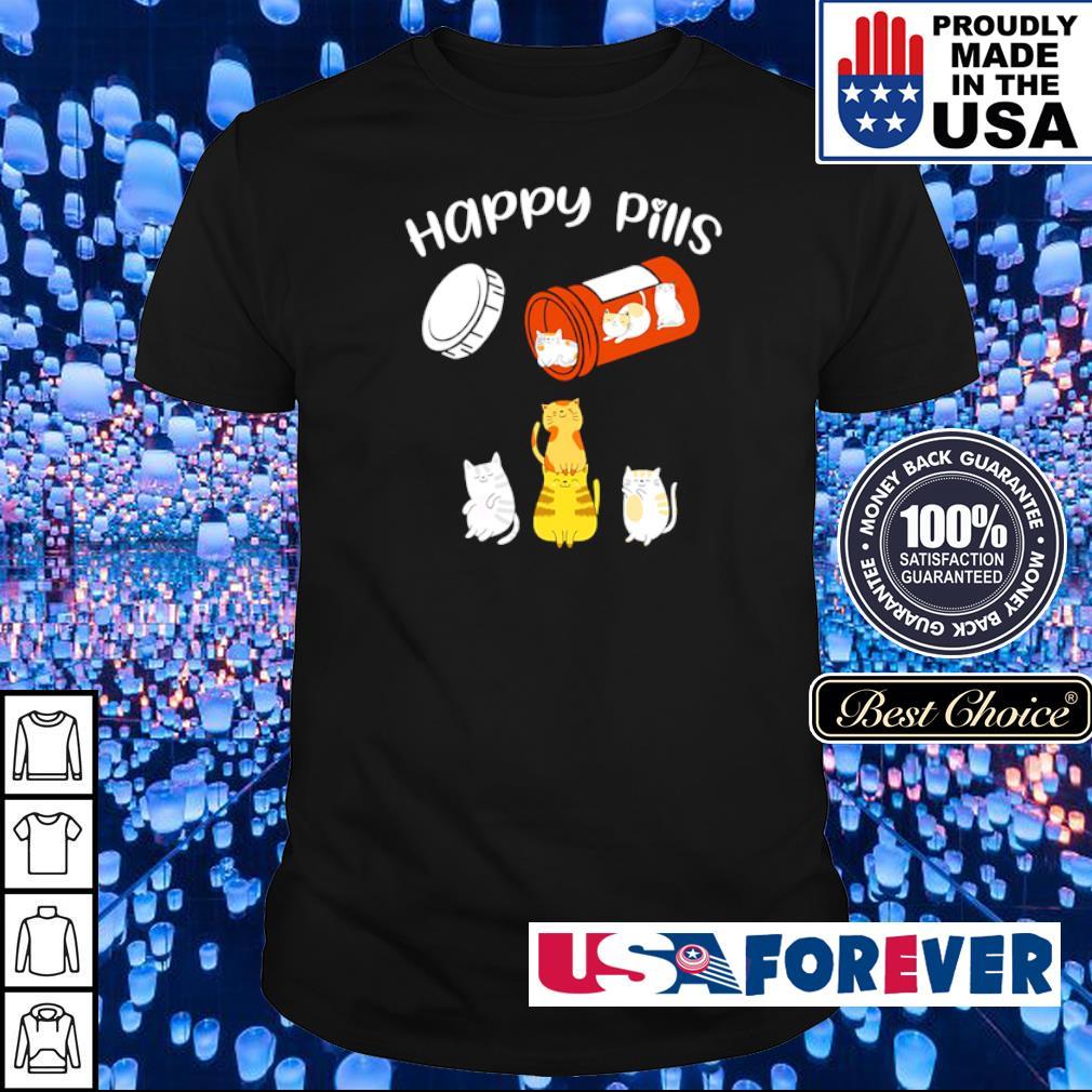 Official Cat Happy Pills shirt