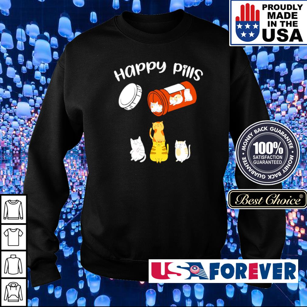 Official Cat Happy Pills s sweater