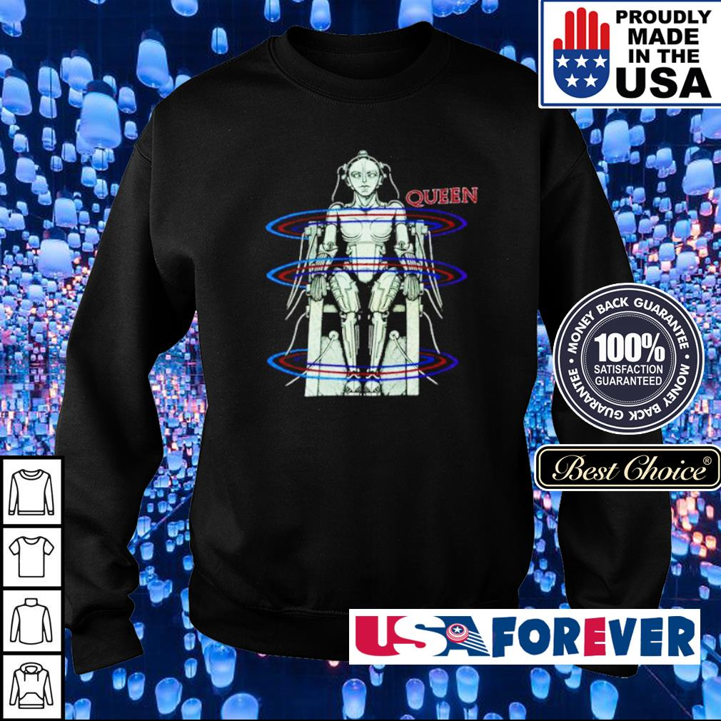 Official Cyborg Queen s sweater