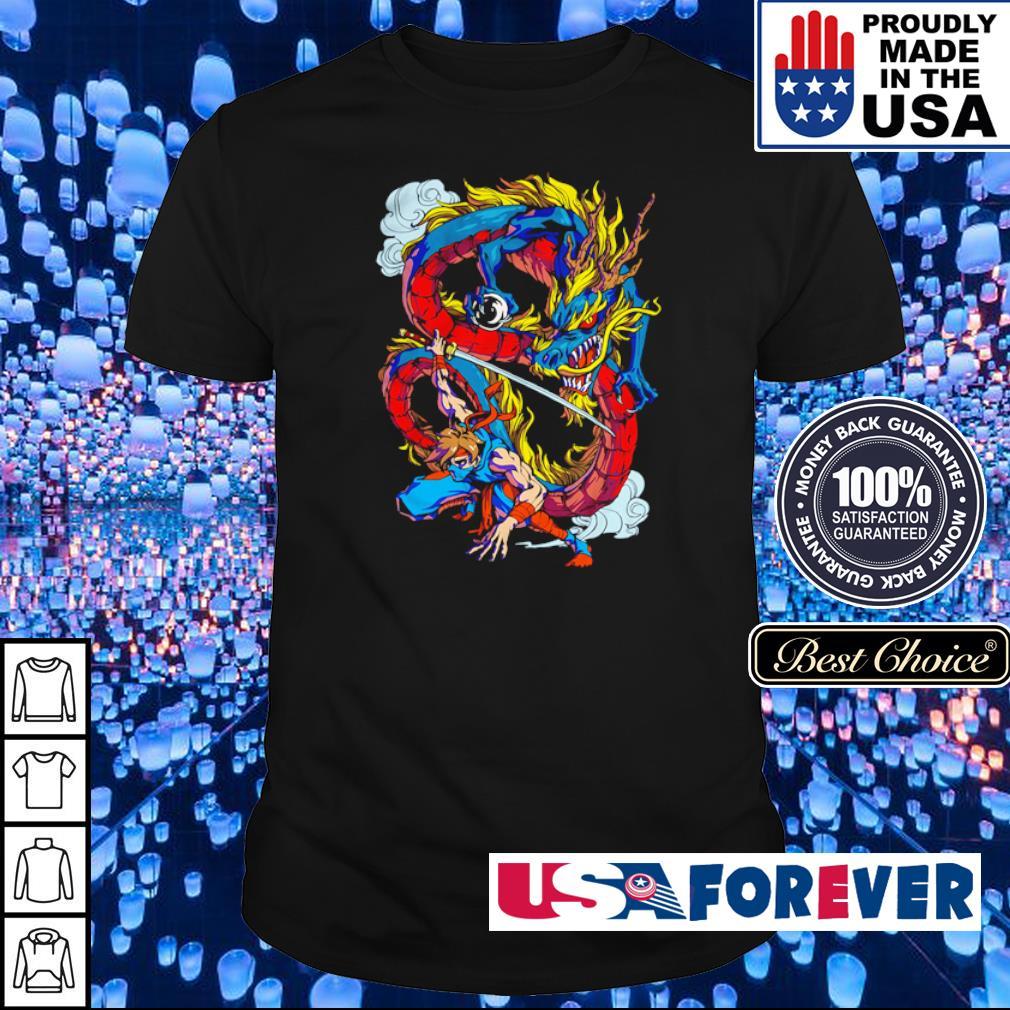 Official Dragon Ninja shirt
