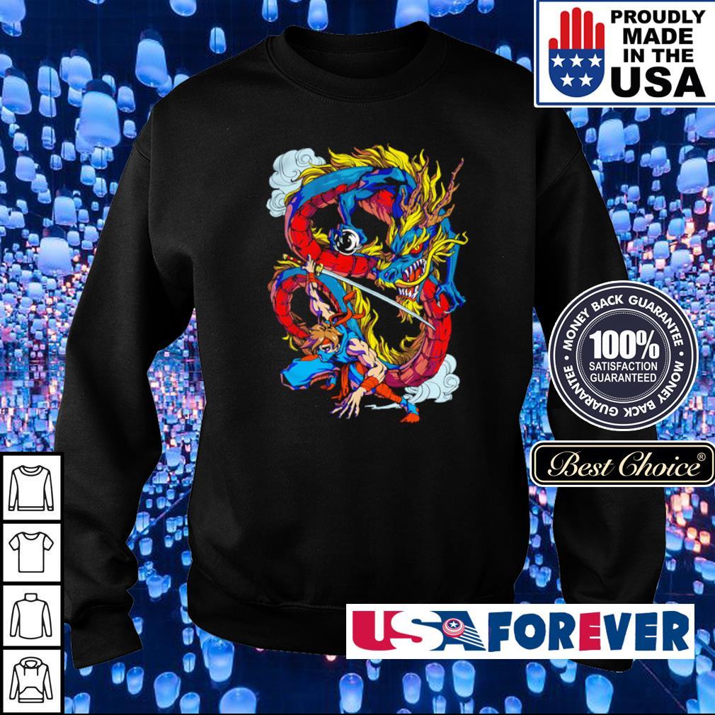 Official Dragon Ninja s sweater