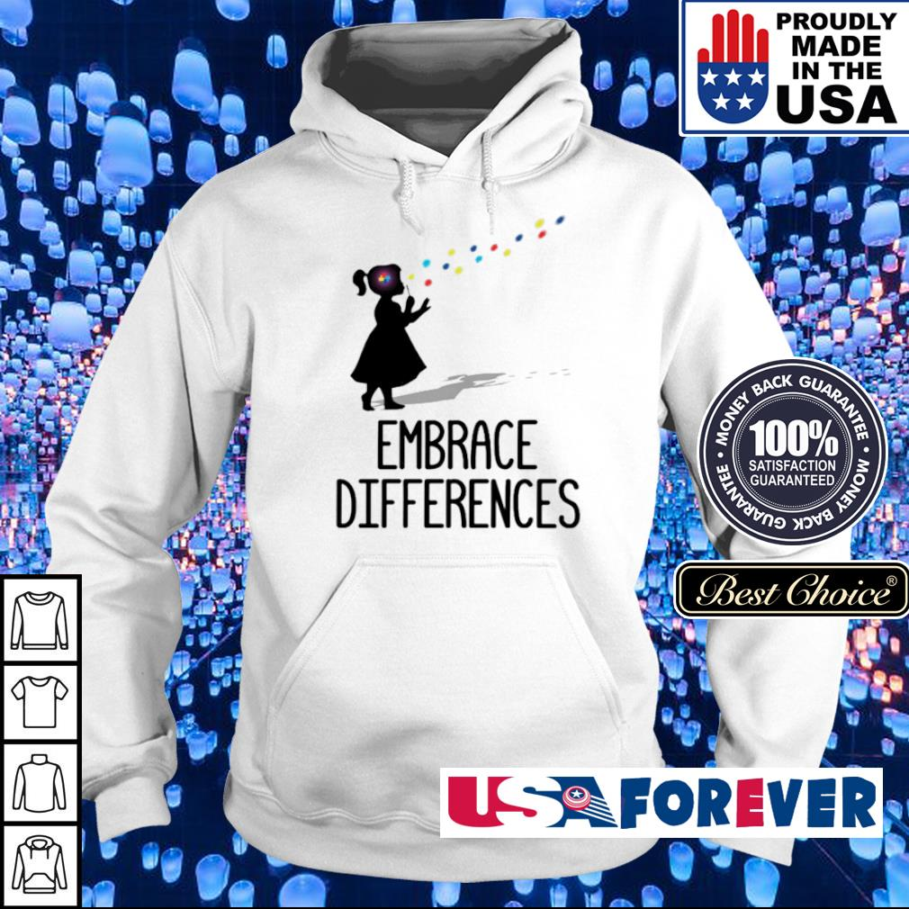 Official Embrace Differences s hoodie