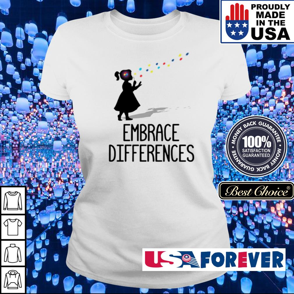 Official Embrace Differences s ladies