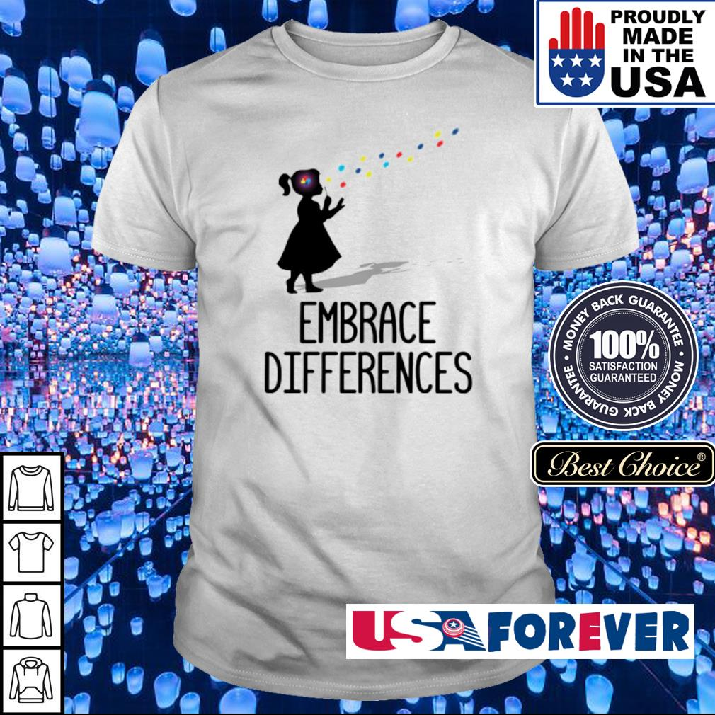 Official Embrace Differences shirt