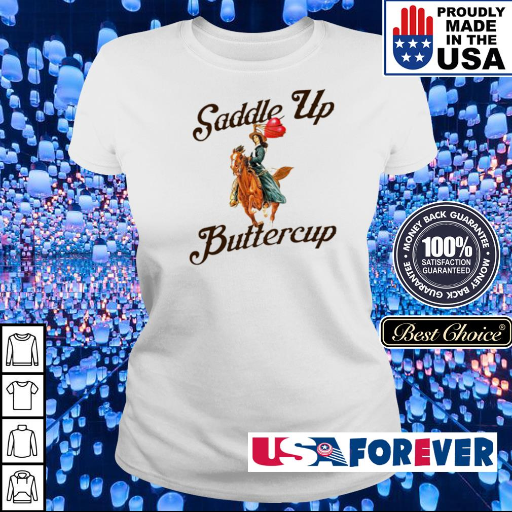 Official Saddle up butter cup s ladies