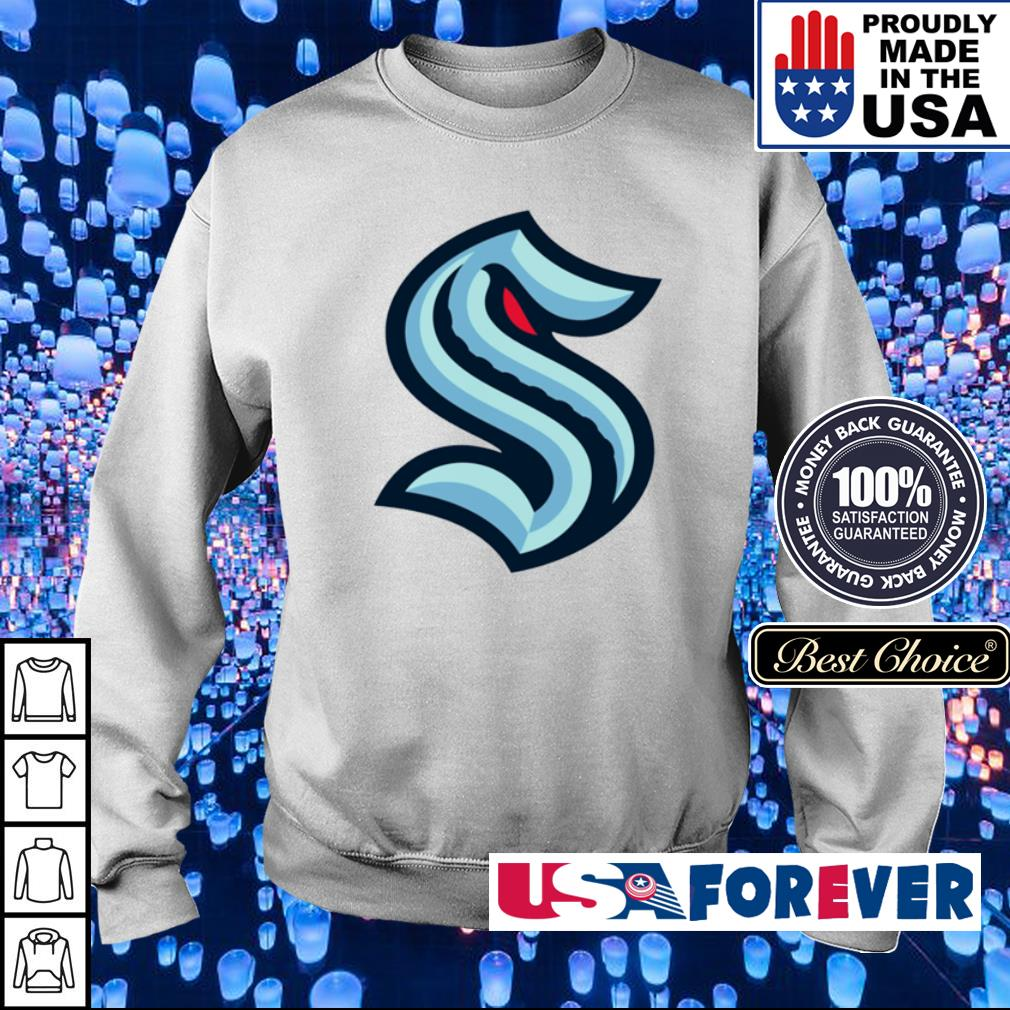 Official Seattle Kraken logo s sweater