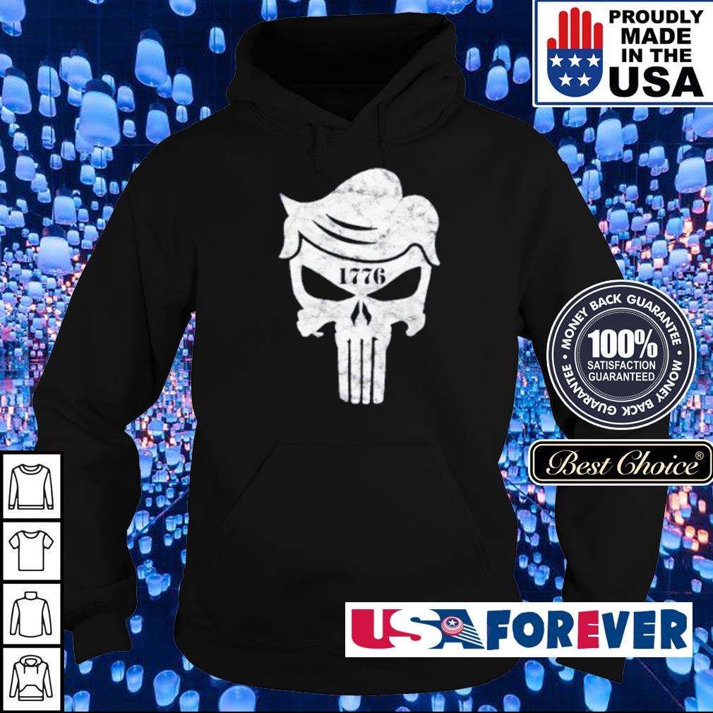 Official Skull The Punisher 1776 s hoodie